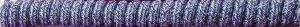 Blue Denim Curly Shoelaces Coil Elastic Stretch Shoe Laces No Tie Twisters Coilers no-tie