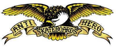Anti-hero Skateboards Logo Iron On Transfer Teen Gift