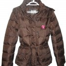 Girl's Brown Winter Jacket