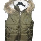 Green Teen Winter Vest