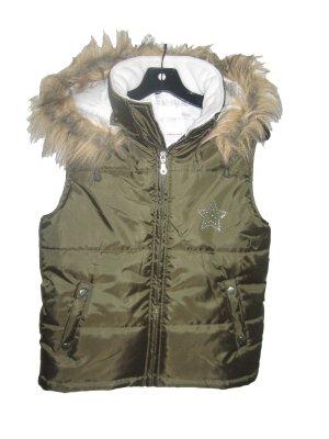 Green Teen Winter Vest