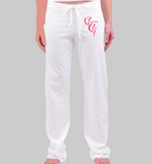 GG White Teen/ Women's Casual Pants
