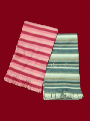 Girl's Winter Scarf - Pink & Blue