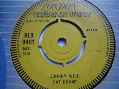 Pat Boone 7in Single London