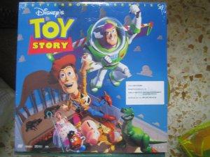 Toy Story 12in laser disc Walt Disney New