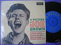 Joe Brown 7in EP india Dum Dum India