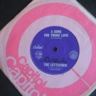The Lettermen 7in Single Capitol Australia