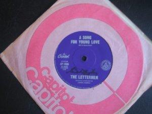 The Lettermen 7in Single Capitol Australia