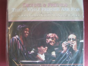 Dionne and Friends 7in Single Arista UK
