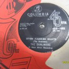 The Dubliners 7in Single Seven drunken nights Columbia