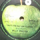 Billy Preston 7in Single Apple