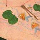 Gold Fish Bath Set Patterns
