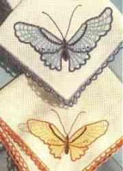 Butterfly Hankies Pattern