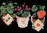 Flower Pot Cover Patterns