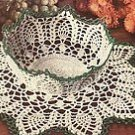 Starched Bowl and Doily Pattern