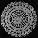 Spider Web Doily Pattern