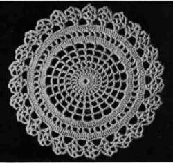 Spider Web Doily Pattern