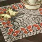 Butterfly Night Table Doily Pattern