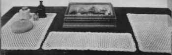 Three Piece Vanity Dresser Set Pattern