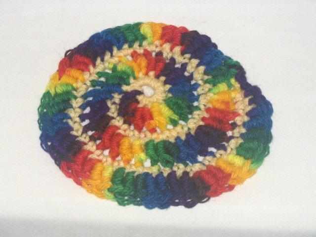 Rainbow Super Frisbee
