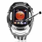 Mobile Phone Watch with Back Lit Keypad Strap + bluetooth headset