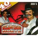 LOS RELAMPAGOS DEL NORTE-3 CD'S=40 EXITAZOS