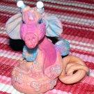 Handcrafted Original Art Sculpture Polymer Clay Dragon ITEM#PR00603