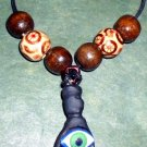 Handcrafted Original Art Jewelry Azabache Hand & EYE Necklaces PR05798