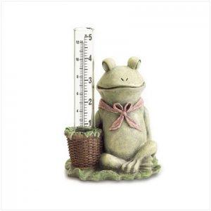 Frog Rain Gauge