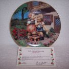 "Hummel Little Companions Plate-""Squeeky Clean"" w/certificate"