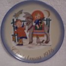 "Hummel>Berta>Schmid>1976 Christmas Collector's Series Plate ""Sacred Journey"""