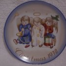 "Hummel>Berta>Schmid>1978 Christmas Collector's Series Plate ""Heavenly Trio"""