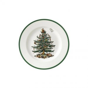 Spode Christmas Tree Salad Plates 7.5 inch (2 Each)