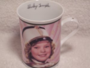Danbury Mint Fine Porcelain Mug Shirley Temple Poor Little Rich Girl 1936