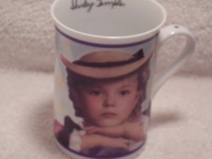 Danbury Mint Fine Porcelain Mug Shirley Temple The Little Colonel 1935