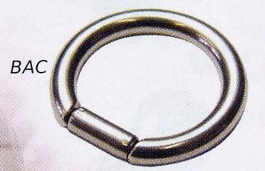 Bar Closure Ring