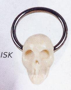 Clip In Indonesian Skull