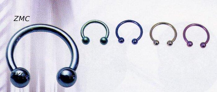 Titanium Micro Circular Barbells