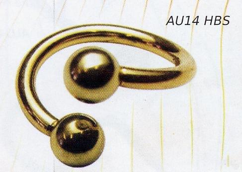 Body Spiral 14k Gold
