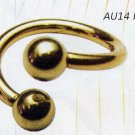 Body Spiral 14k Gold