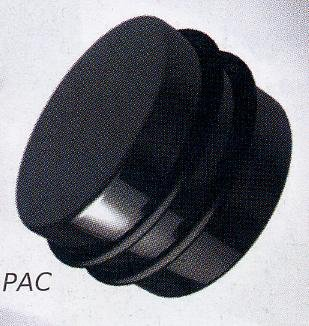 Black Polyacetal Plug