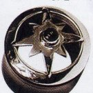 Jewelled Compass Hybrid Silver Buffalo Plug