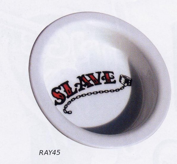 Slave Bowl - Manacle and Chain