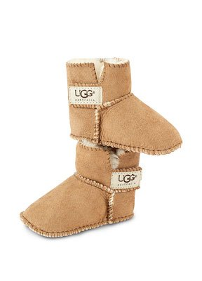 UGG&Acirc;&reg; Erin Baby Booties - Chestnut