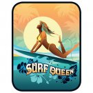 Hawaii Surf Queen Car Window Decal Bumper Sticker