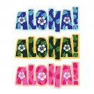 Hawaii Aloha Decorative Car Window Decal Bumper Sticker