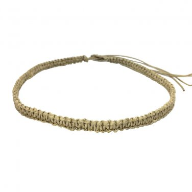 Original Hawaiian Hemp Handmade Choker Necklace from Hawaii