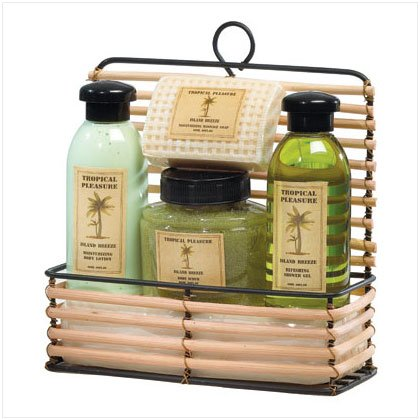 Tropical Treasures Bath Set.