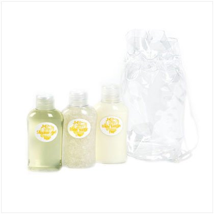 3-pc Mini Bath Gift Set Lily Scent