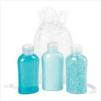 3-pc Mini Bath Gift Set Sea Breeze Scent